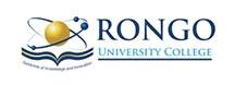 Rongo University Logo