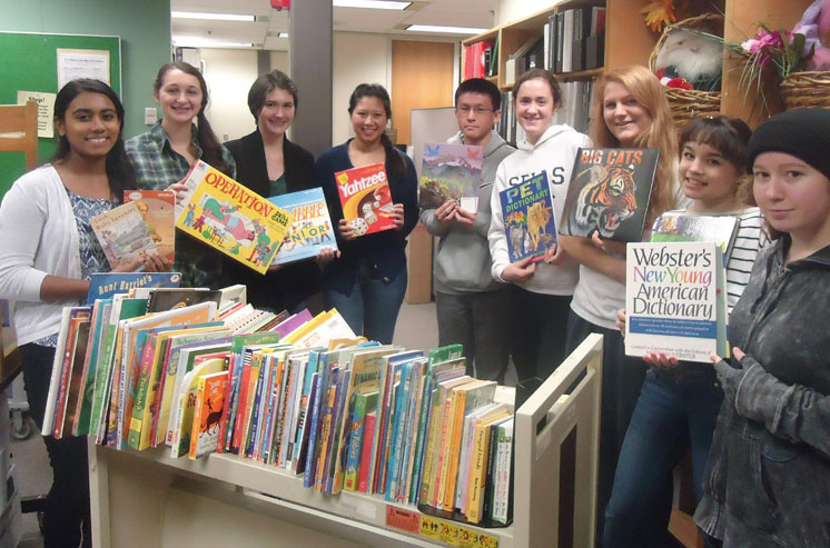 Dublin Coffman High School Students Share the Gift of Reading