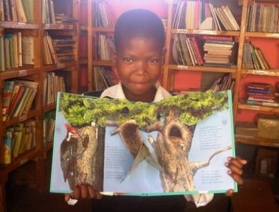 Mopeli Primary School Library - The Happiness Place.