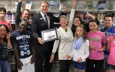Celebrating our 1000th Library